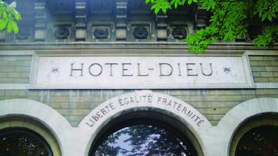 Hôtel-Dieu (APHP) - Crédit DR