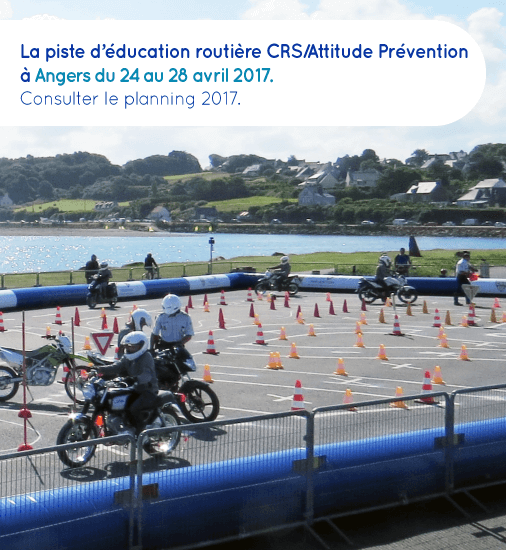 Piste CRS Angers 2017