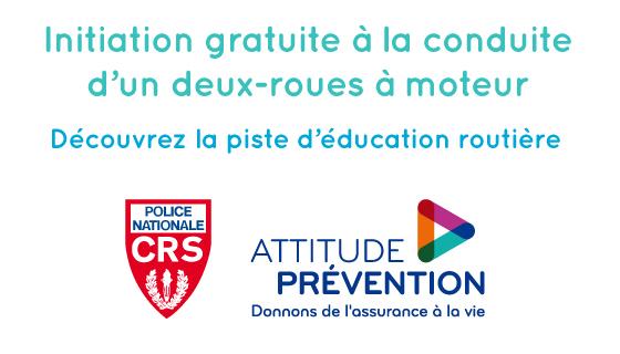 Piste d'éducation routière CRS-Attitude Prévention