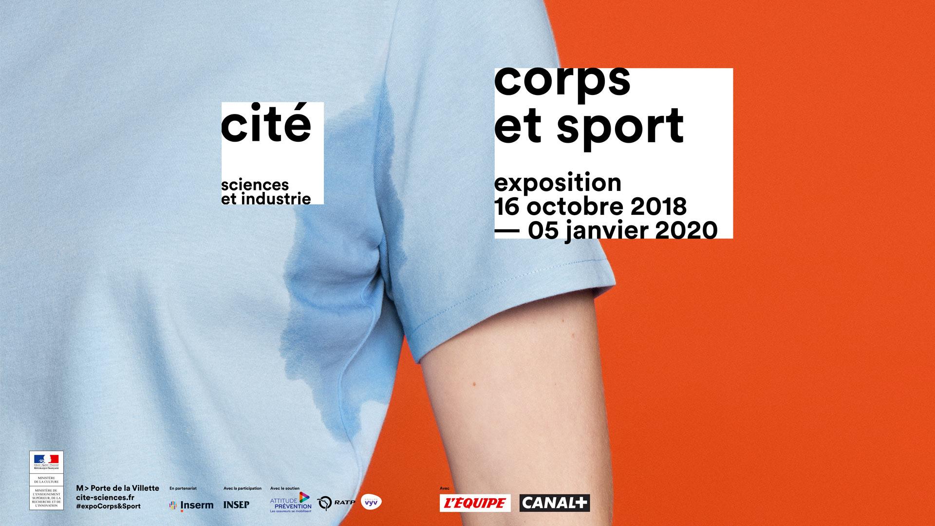 exposition corps sport mecenat attitude prevention