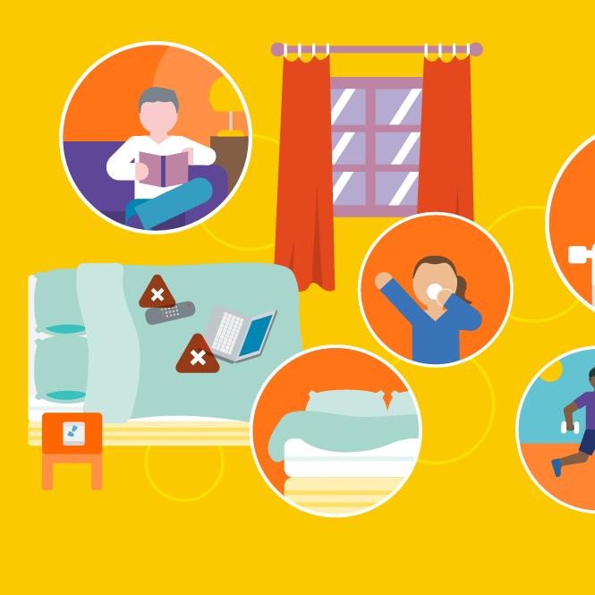 Favoriser un bon sommeil : les 3 conseils-clés (Infographie)