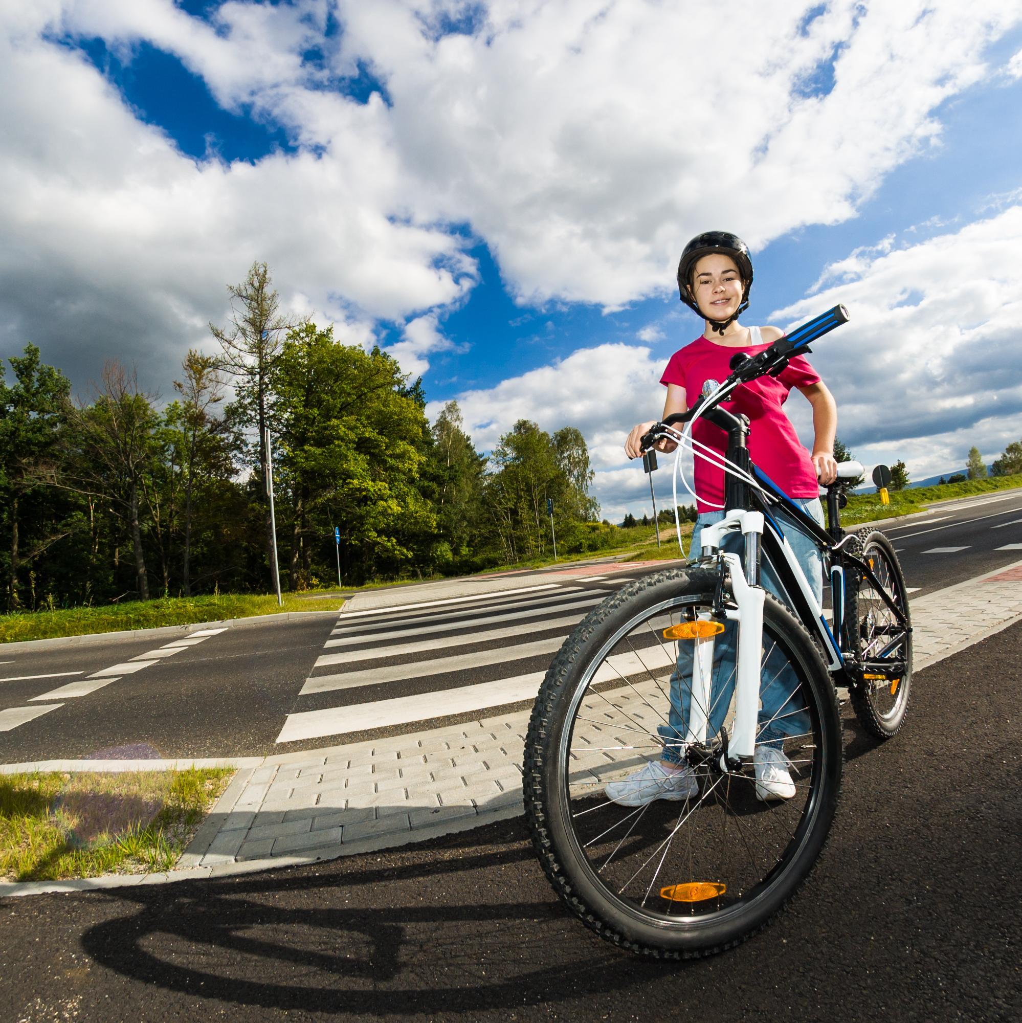 Les attitudes à risque de l'enfant à vélo
