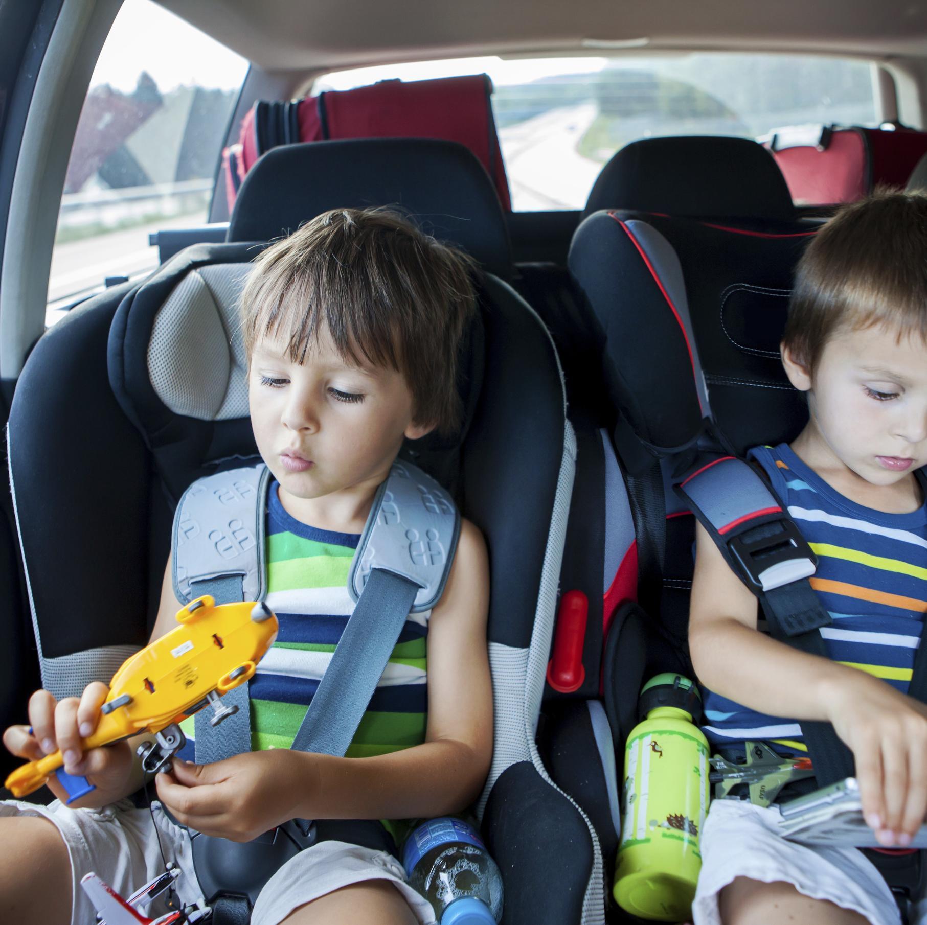 Occuper les enfants pendant un trajet