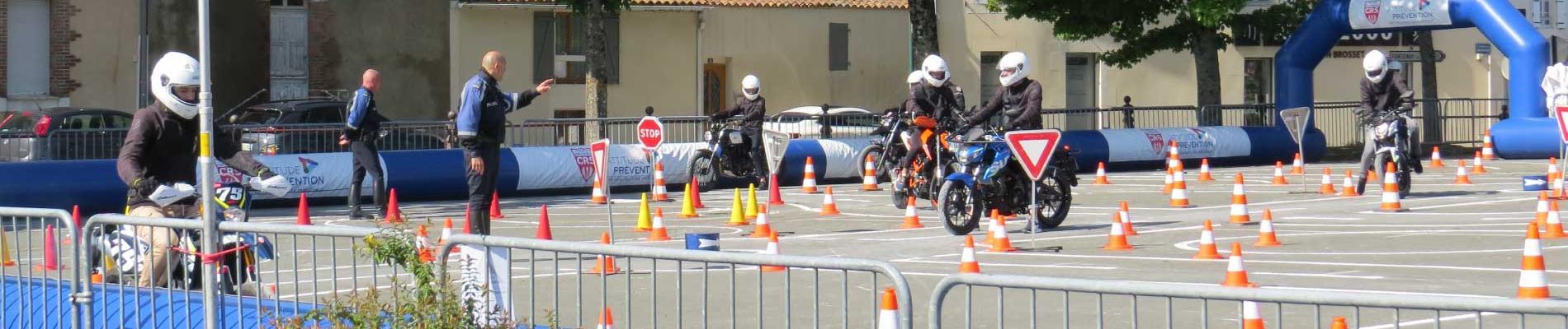 Les jeunes en piste pour la sécurité à Luçon (85), du 29 avril au 3 mai