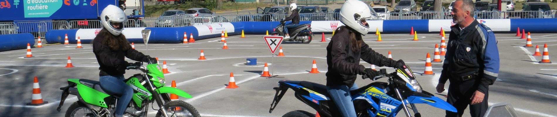 Les jeunes en piste pour la sécurité aux Pennes Mirabeau (13), du 19 au 22 mars