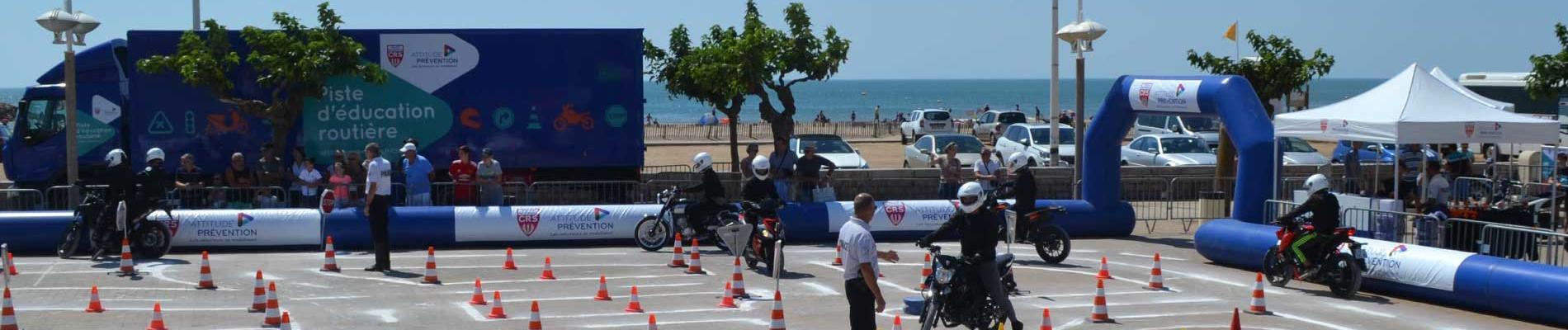 Initiation au deux-roues motorisé : les jeunes en piste tout l'été pour la sécurité