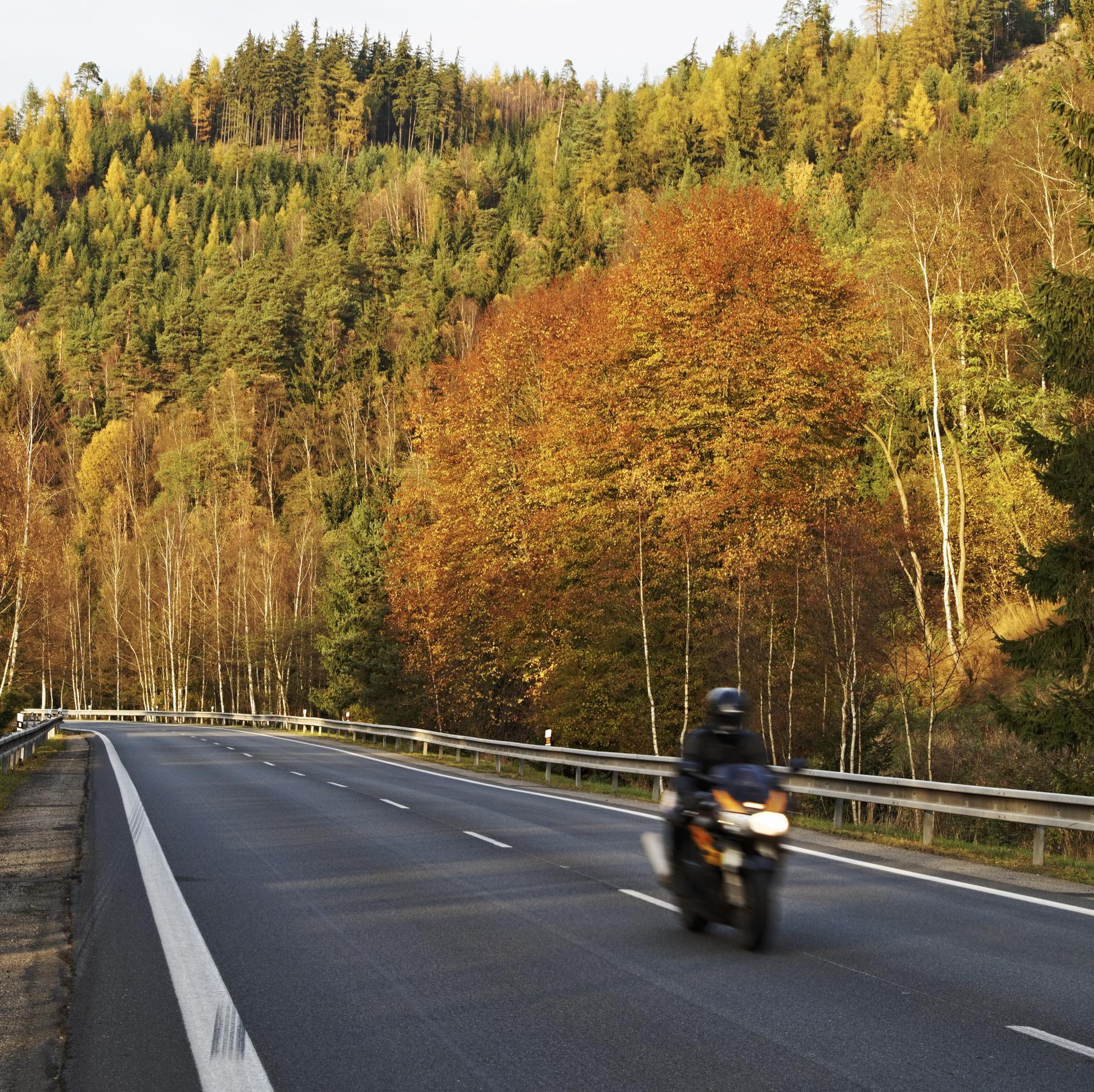 circuler à moto