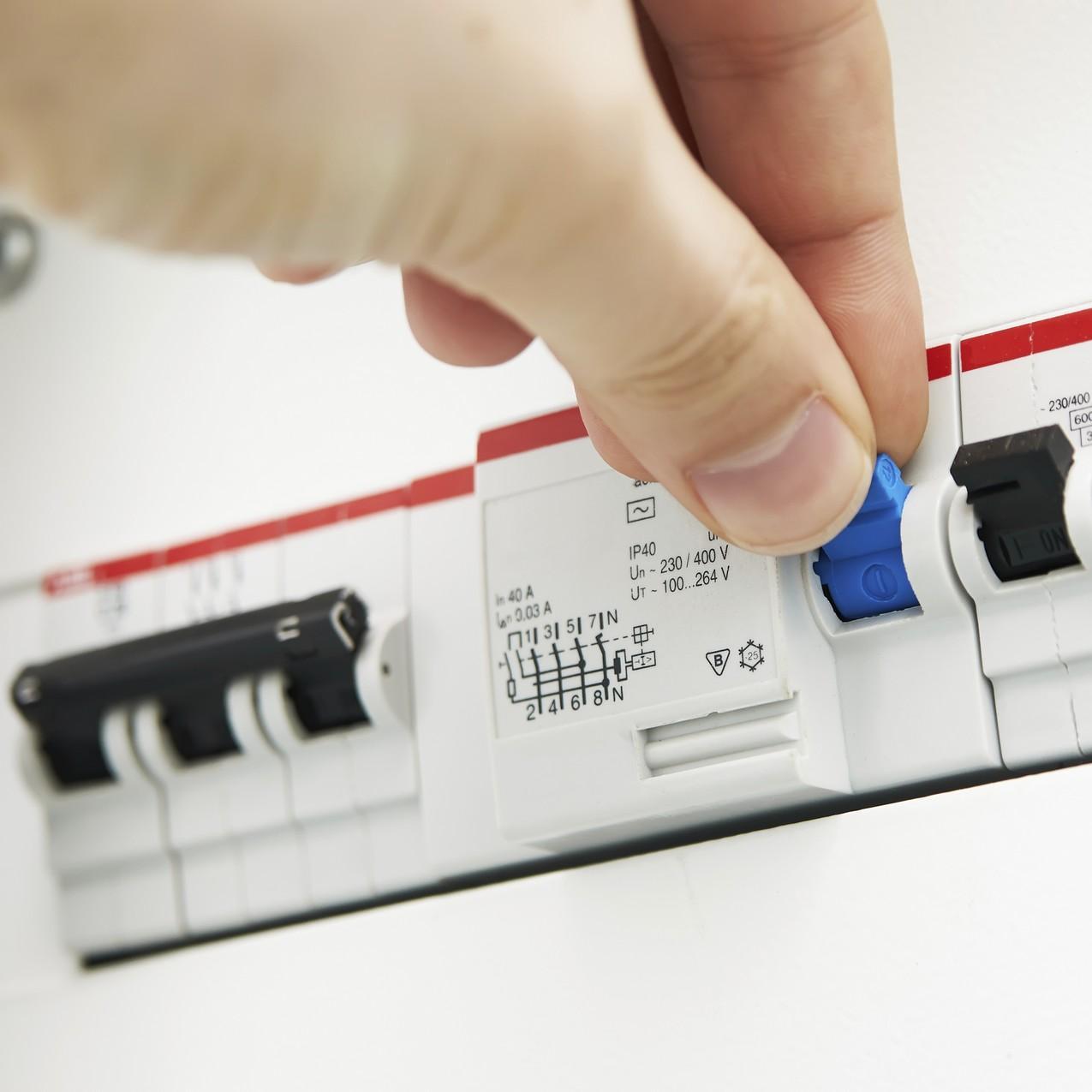 Victime électrisation