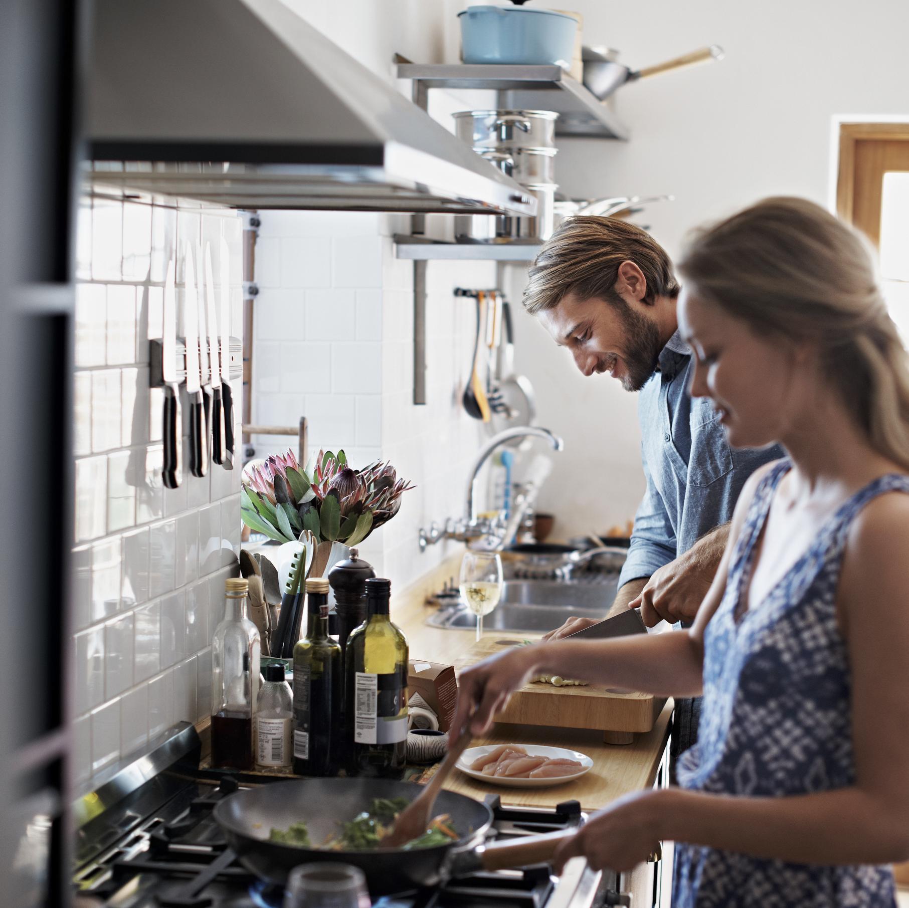 dangers dans la cuisine
