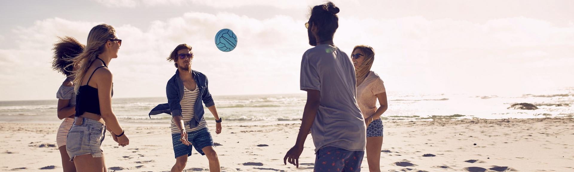 Vacances d'été, comment rester actif sur la plage ?