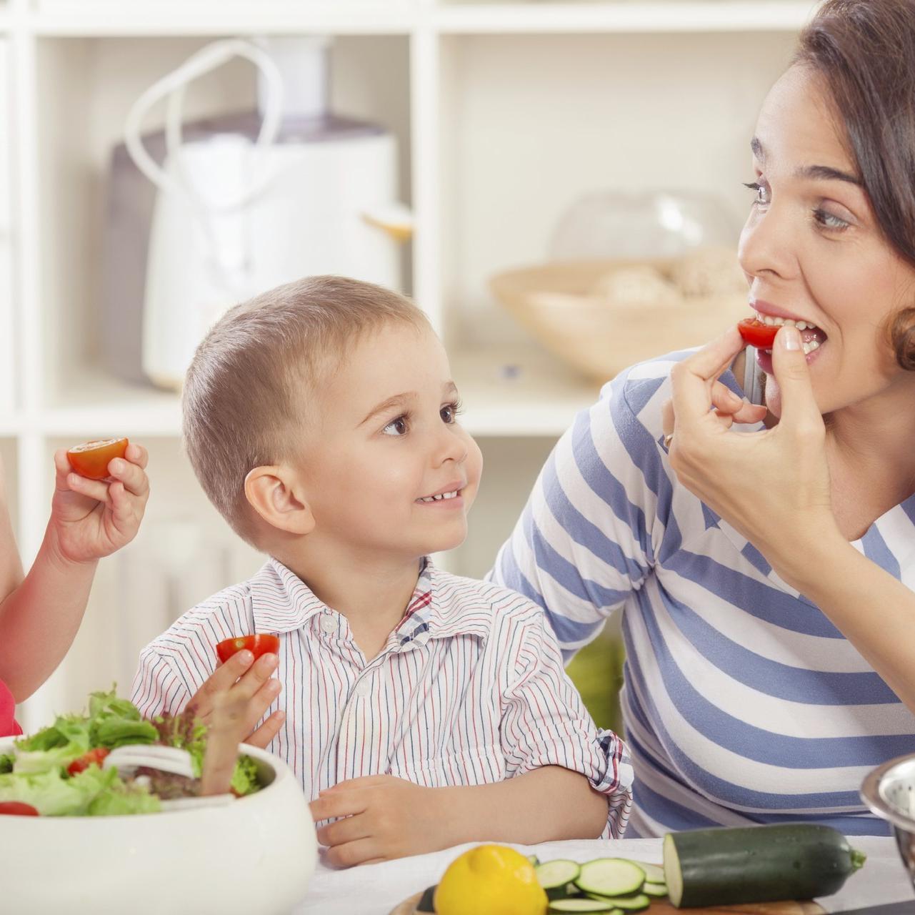 Alimentation saine chez l'enfant