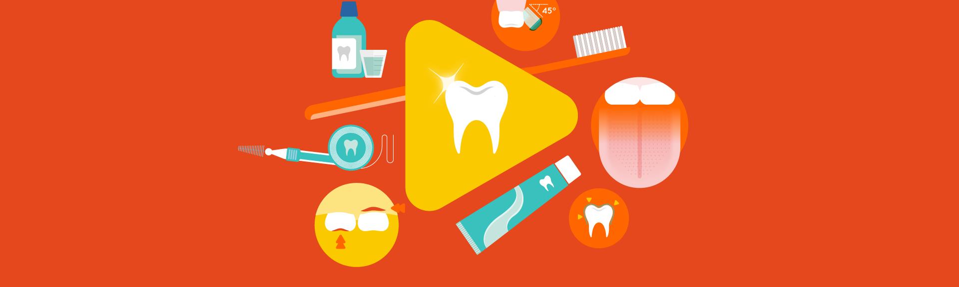 Infographie santé bucco dentaire