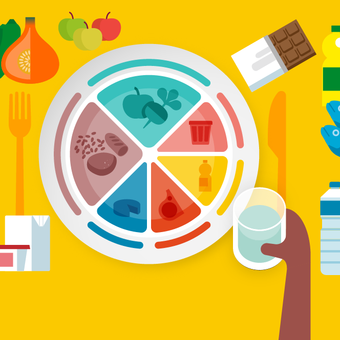 Aucun aliment ne contient tous les nutriments nécessaires au bon fonctionnement de notre organisme. Mais manger sainement et équilibré contribue à rester en bonne santé. Nous devons donc diversifier notre alimentation pour qu'elle couvre l'ensemble de nos besoins (en vitamines, sels minéraux, oligoéléments...) et réduise la consommation de nutriments dont l'excès est nocif (matières grasses, sucre, sel...). Nos conseils en une infographie.