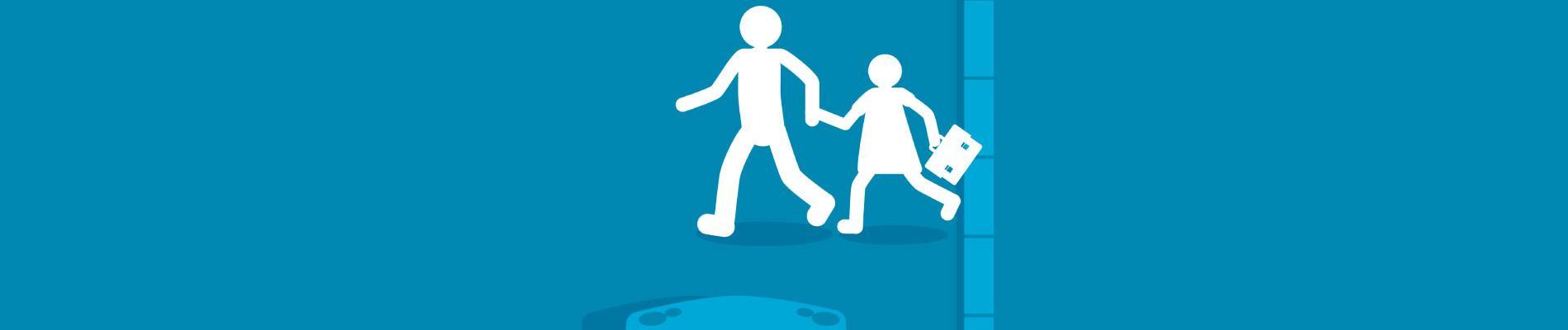 Le comportement des parents en tant que piéton lors des trajets scolaires et periscolaires