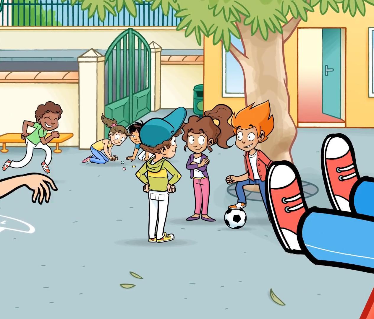 La salle de jeux : les dessins animés