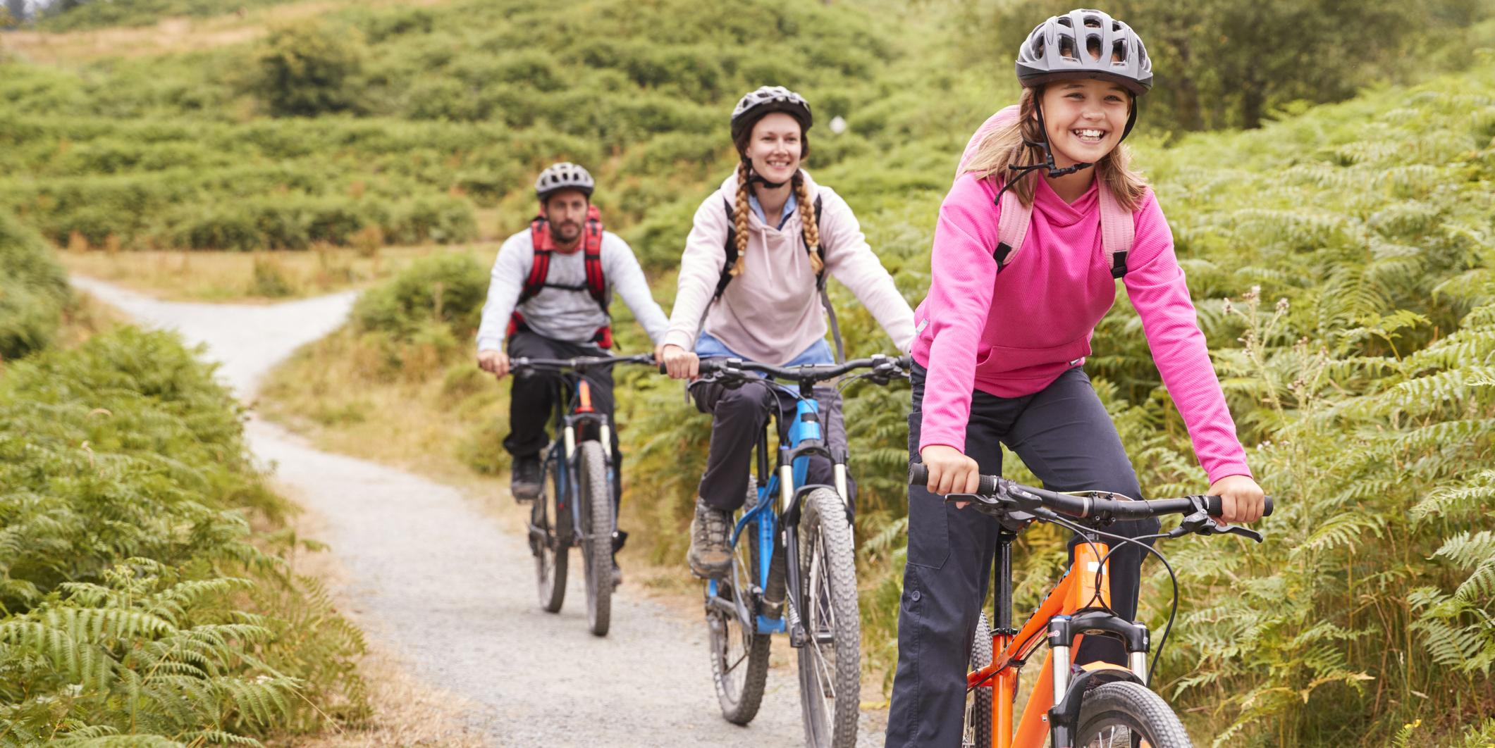 Sortie vélo en famille
