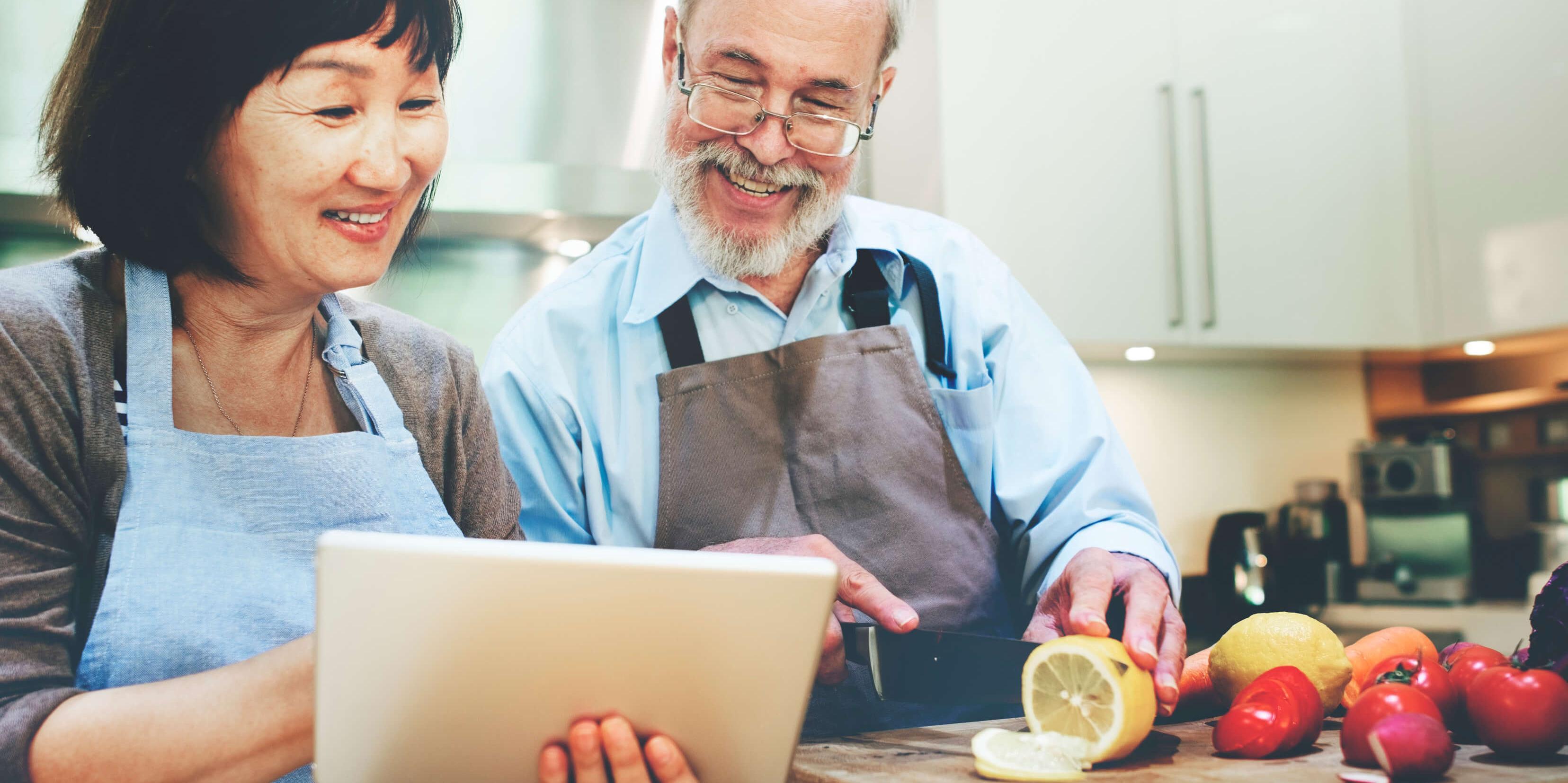 Equilibre alimentation senior age