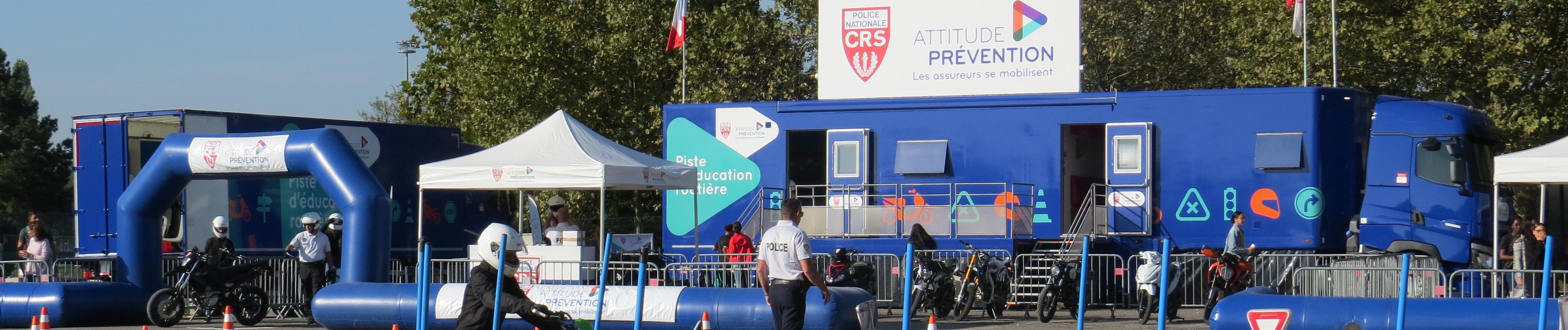 Les jeunes en piste pour la sécurité à Besançon (25), du 23 au 27 septembre