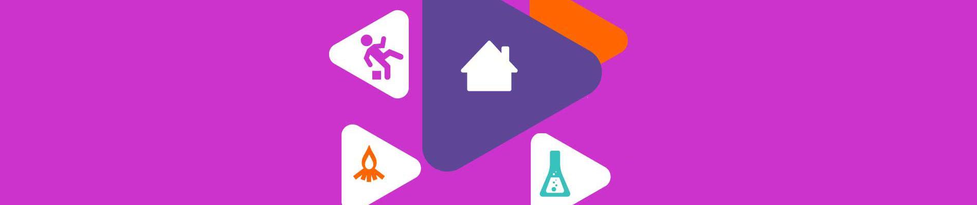 Campagne #RestonsChezNous #EnTouteSécurité pour sensibiliser sur les risques accrus d'accidents domestiques
