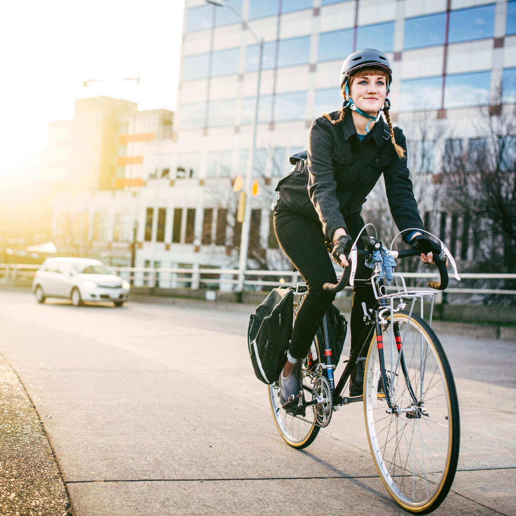 Cycliste urbain : conseils de sécurité